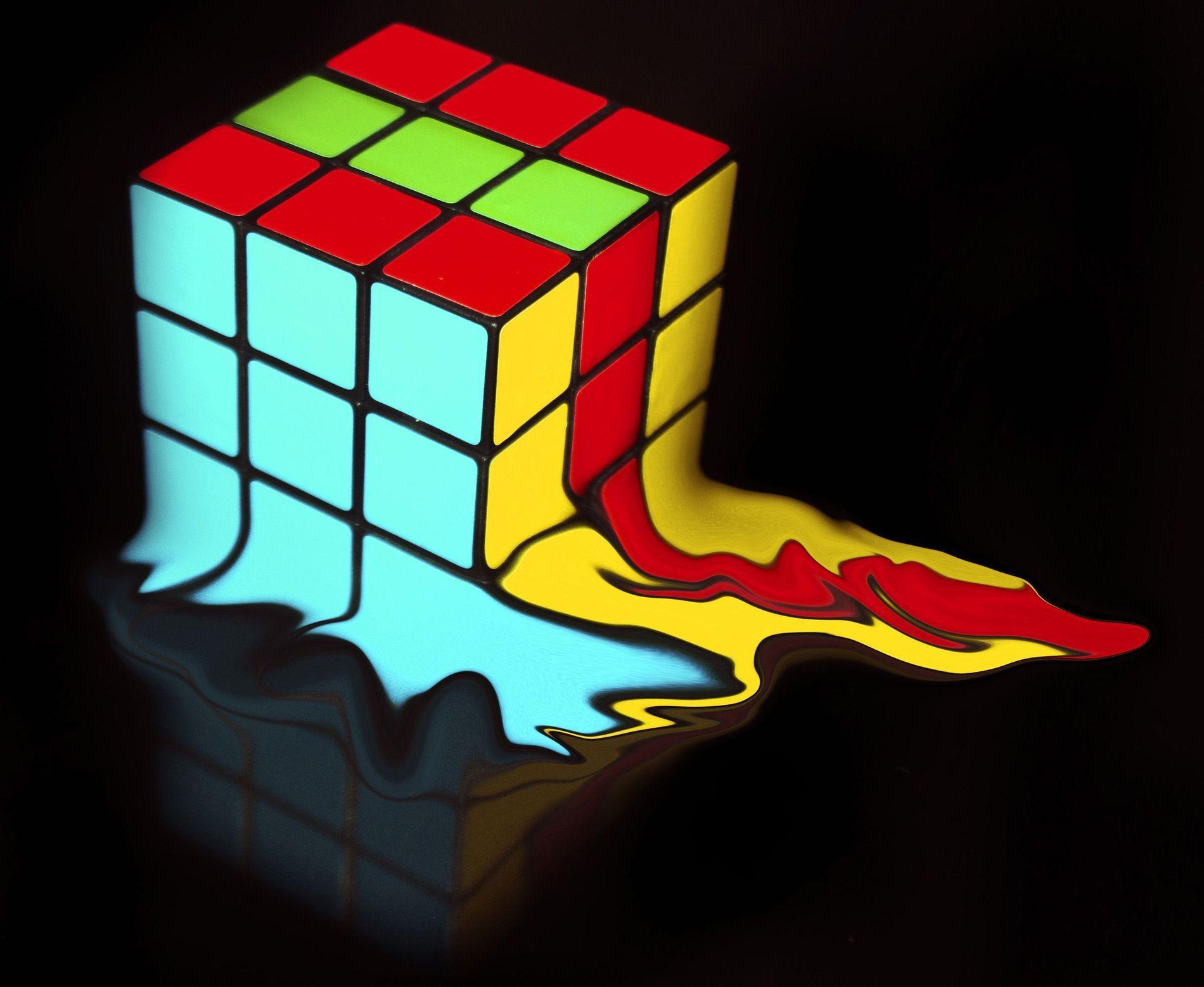 Melting Cube By Dawn Gelderblom