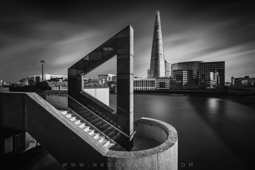 Shadows are very versatile in your black and white photographic efforts a shadow can be a shape or a leading line and become a major contributor to the